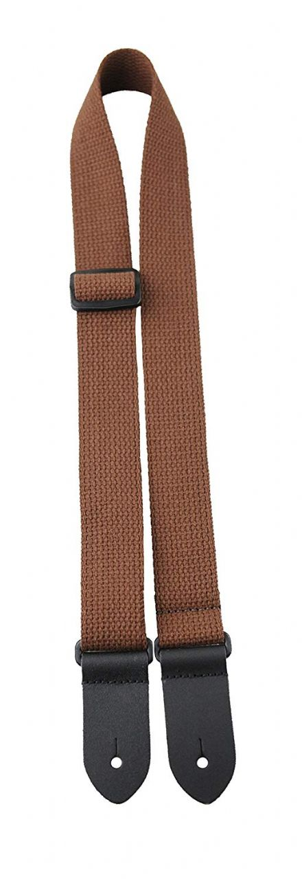 Perris CWS15-6898 Cotton Ukulele Strap Brown